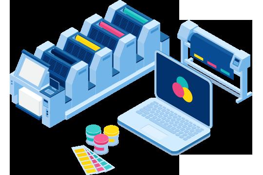Print estimating software