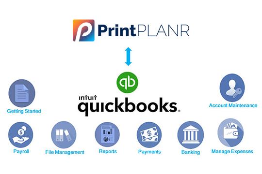 Print MIS Integration with Quickbooks