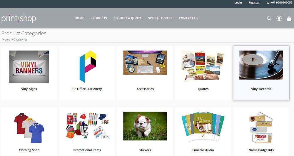 Web-to-Print-Shop