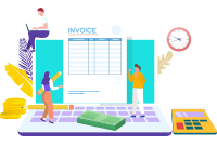 With integration Export invoice with Print system