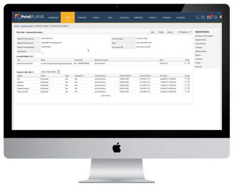 Print Warehouse Management System