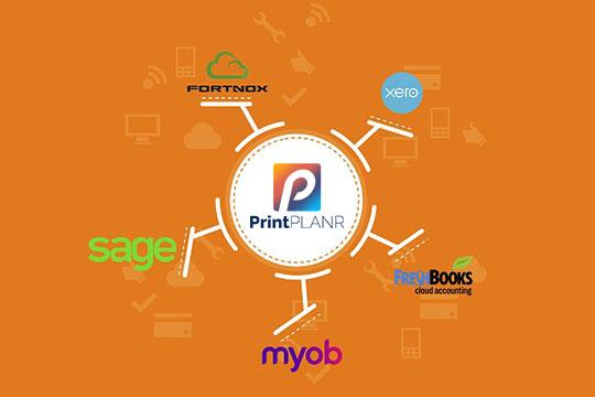 print accounting software integration