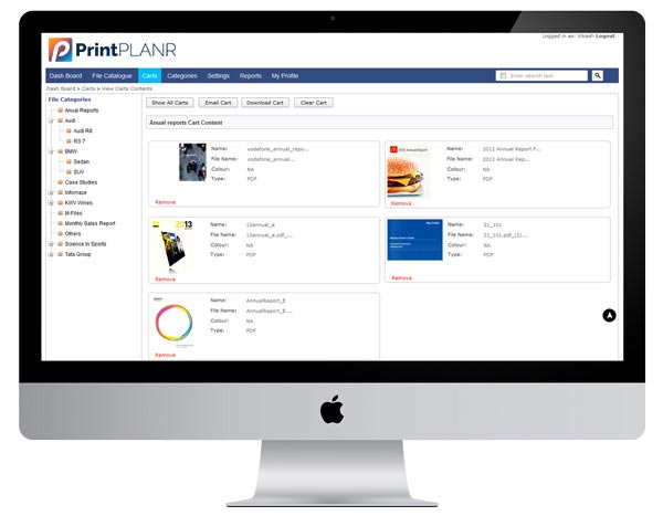 document management for print industry